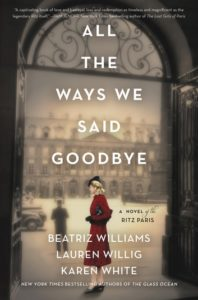 All The Ways We Said Goodbye Book Cover | Friends of the Library of Collier County Nick Linn Series