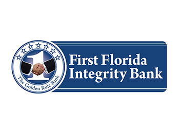 First Florida Integrity Bank Logo | Friends of the Library of Collier County Donors