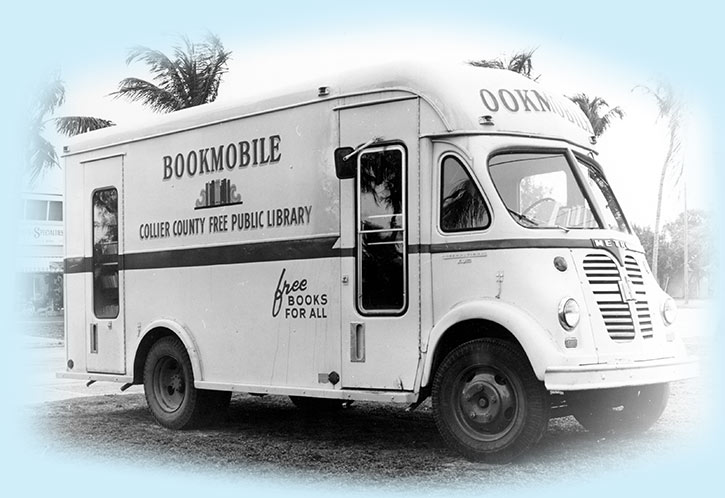 Collier County Public Library Bookmobile | Friends of the Library of Collier County